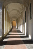 Ancient arcades passageway Royalty Free Stock Images