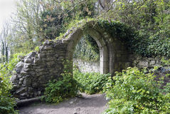 Ancient arch in England Stock Photography