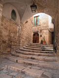 Ancient arch in Oldtown of Giovinazzo. Apulia. Royalty Free Stock Photography
