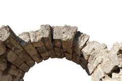 Ancient arch in Olimpia, Greece. Stock Images