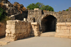 Ancient arch passage. Royalty Free Stock Images