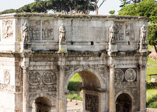 Ancient Arch in Rome Stock Image