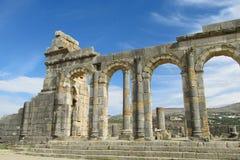 Ancient arch ruins Stock Photos