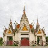 The ancient arch of temple thailand Royalty Free Stock Photo