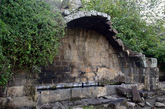 Ancient arch of Umm el Kanatir, Israel Royalty Free Stock Photography