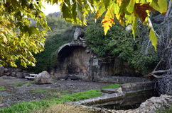 Ancient arch of Umm el Kanatir, Israel Royalty Free Stock Photo