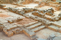 Ancient archaeological site. Royalty Free Stock Photography