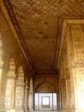 Ancient Arches. Beautiful ancient arches from an ancient palace in India Stock Images