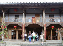Ancient architectural buildings in Heshun town, Yunnan, China Stock Photos