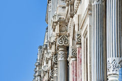 Ancient architectural details Royalty Free Stock Photos