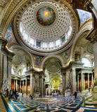 Ancient architectural masterpiece of Pantheon in Paris, France Royalty Free Stock Photography