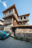 Ancient architectural style in Bulgaria Royalty Free Stock Image