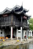 Ancient architectural style Chinese Royalty Free Stock Photography