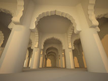 Ancient Architecture vector illustration