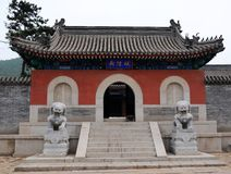 Ancient architecture. China has a long history of the ancient architecture Stock Photos