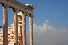 Ancient Architecture. Classic architecture of ancient Greece Royalty Free Stock Photos