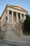Ancient Architecture. Staircase leading to a classical building Royalty Free Stock Photography
