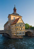 Ancient Architecture. In Bamberg, Germany Royalty Free Stock Photo