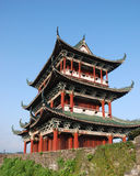 Ancient architecture. This is a ancient architecture in China Royalty Free Stock Photo