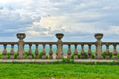 Ancient architecture of ancient railings Stock Image