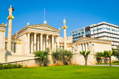 Ancient architecture in Athens, Greece Royalty Free Stock Photography
