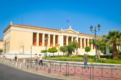 Ancient architecture in Athens, Greece Stock Images