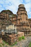 Ancient Architecture in Ayutthaya Stock Images