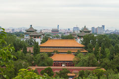 Ancient architecture in beijing Royalty Free Stock Photos