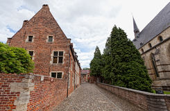 Ancient architecture of Belgium Stock Photo