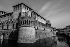 Ancient, Architecture, Black&white Royalty Free Stock Photography