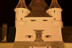 Ancient architecture in Brasov Romania, detail Royalty Free Stock Images