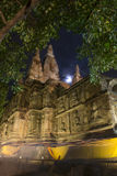 Ancient architecture in Chiangmai, Thailand.(Wat Jed Yod) Royalty Free Stock Photos