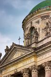 Ancient architecture. Church fragment. Stock Photography