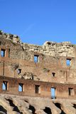 Ancient architecture Colosseum in Roma Italy. Day time Royalty Free Stock Photo
