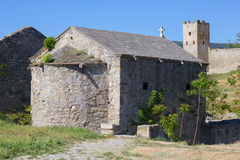 Ancient architecture of Crimea Stock Photo