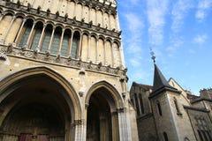Ancient Architecture in Dijon Stock Photos