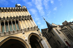 Ancient Architecture in Dijon Royalty Free Stock Photography