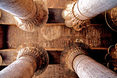 Ancient architecture in Egypt Royalty Free Stock Photo