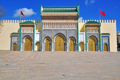 Ancient architecture of Fes, Morocco Stock Photo