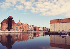 Ancient architecture Gdansk. Royalty Free Stock Photography