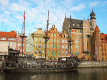 Ancient architecture of Gdansk. Royalty Free Stock Photo