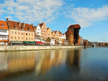 Ancient architecture of Gdansk. Royalty Free Stock Images