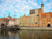 Ancient architecture of Gdansk. Royalty Free Stock Photography