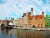 Ancient architecture of Gdansk. Stock Image