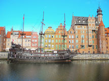Ancient architecture of Gdansk. Royalty Free Stock Photos
