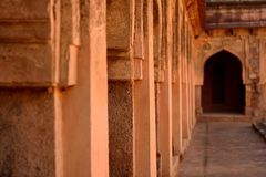 Ancient Architecture of India. This picture was taken from one of the alleged haunted places of India Stock Photos