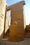 Ancient architecture of Karnak temple in Luxor Royalty Free Stock Images