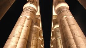 Luxor Temple - Egypt HD Video. Ancient Architecture of Karnak Temple at Luxor - Egypt Luxor temple - Most huge temple at Egypt Full HD Video stock video