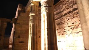 Luxor Temple - Egypt HD Video. Ancient Architecture of Karnak Temple at Luxor - Egypt Luxor temple - Most huge temple at Egypt Full HD Video stock video footage