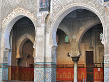 Ancient architecture of Morocco Stock Images